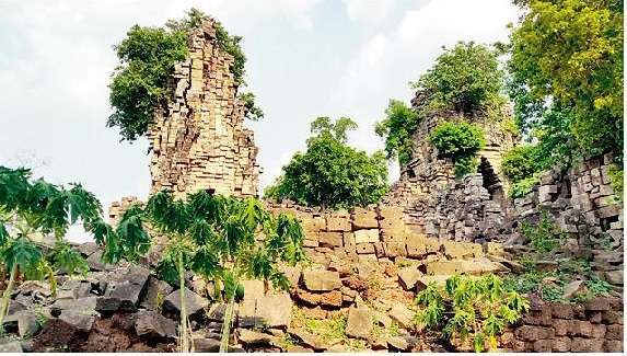 CITYSCAPE: The Angkor- period temple of Banteay Top, within the Banteay Chhmar acquisition block, in Siem Reap province